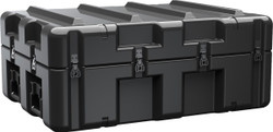 Pelican AL3424-0805 Single Lid Case, With Optional Foam Insert or Wheels, Available in Black or OD Green, 38x28x16, 58 lbs (w-out foam 37 lbs)