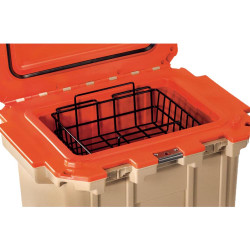 Pelican 30-WB Dry Rack Basket for 30QT Elite Cooler, Corrosion resistant, Keeps food or bait elevated and dry