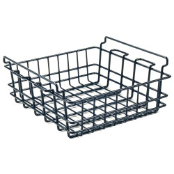 Pelican WBSM Dry Rack Basket, Corrosion resistant, Keeps food or bait elevated and dry, compatible with 45QW Elite Wheeled Cooler and 95QT Elite Cooler