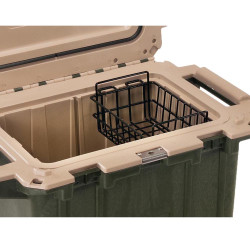 Pelican 50-WB Dry Rack Basket for 50QT Elite Cooler, Corrosion resistant, Keeps food or bait elevated and dry