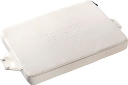 Pelican 50Q-SEAT-WHT Seat Cushion for 50QT Elite Cooler, Attaches easily and securely with included stainless steel self-tapping studs, available in White