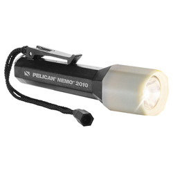 Pelican Nemo™  LED Dive Light,  Compact and Lightweight, Available in Black or Yellow 2010N