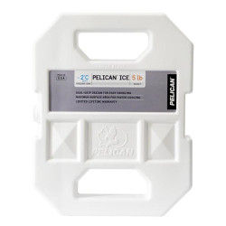 Pelican PI-5LB 5lb Ice Pack, Rugged, reusable, and non-toxic, Chills contents faster and stays cooler longer, UV protective shell, Unique dual handle design, and Custom-designed to fit in Pelican coolers