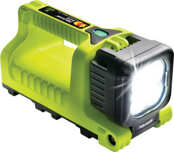 Pelican LED Flashlight, With High/Low/Flashing Modes, High Visibility Yellow  9415