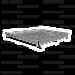 "Jotto-Cargo Slide 410-9801, fits Tahoe SUV (2008-2014), Light Duty, Aluminum, includes AlumaPlank Flooring system, 44""x46"""