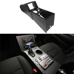 Jotto-Desk 425-6655 Dodge Durango PPV Contour Console, 2019+ Law Enforcement Package, includes faceplates and filler panels