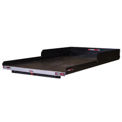"Cargo-Glide CG1000XL Colorado/Canyon Steel Truck-Bed Slide and Extender, 1000 lb Capacity, 100% Extension, 4"" Side Rails with 8"" High Sides, 4.5"" Deck Height, Includes Installation Kit"