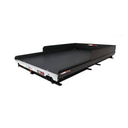 """Cargo-Glide CG1500XL Chevy Tahoe Steel Truck-Bed Slide and Extender, 1500 lb Capacity, 100% Extension, 4"""" Side Rails with 8"""" High Sides, 6.25"""" or 5.25"""" Deck Height, Includes Installation Kit"""