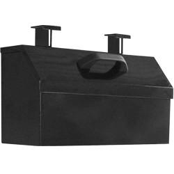 Tufloc 71-174 LARAGE STORAGE BOX Pocket For Gun Racks, 10x18.375x8, Powder-Coated Steel