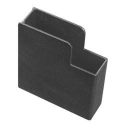 Tufloc 71-104 STANDARD HANDGUN Pocket For Gun Racks, 6.625x1.875x6, Powder-Coated Steel