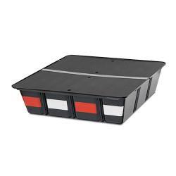 Tufloc 36-100 TufBox Storage Bin, Designed To Fit Under The TufBox Drawer 37x34x9