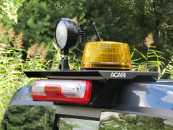 Acari LOW PROFILE Drill Free Truck Rooftop Light Bar Mounting System, No Holes Drilled, Mount Beacons Antennas Mini Light Bars and more