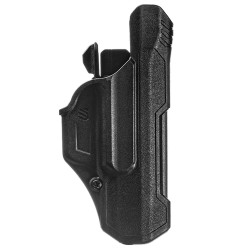BLACKHAWK 44N300BK T-SERIES™ GLOCK 17/22 TLR 7 Level 2 Light Bearing Duty Holsters, available in Left or Right Hand Options, Black