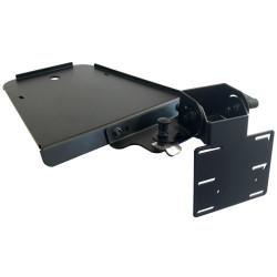 Lund Industries ODM-FPI-S Tablet Mount On Dash with Tilt & Swivel for Ford Interceptor Sedan 2013-2019, 2×4 & 75mm