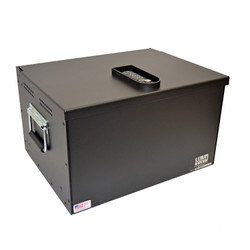 Lund Industries RBV-1620-12E Universal Range Box Vault, 16x20x12, programmable 10 digit electronic lock with  key override, comes with ½ Inch bottom layer of foam