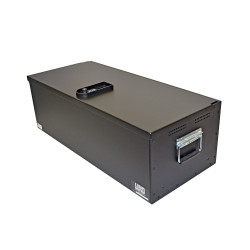 Lund Industries LGV-1636-12 Universal Aluminum Gun Box 36x16x12 Lift-off lid, lock options with foam available