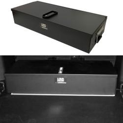 Lund Industries LGV-1540* Universal Aluminum Gun Box 40x15x7 Lift-off, Lock Options with Foam Available