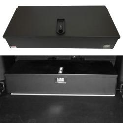Lund Industries LGV-1636* Universal Aluminum Gun Box 36x16x7 Lift-off lid, lock options with foam available