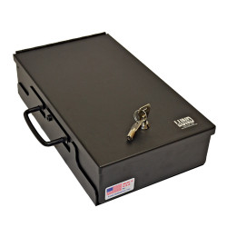 Lund Industries VPB-814D* Universal Pistol box 8x14x3 with Handle with lock options
