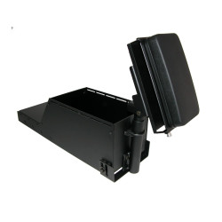 Lund PPJ-HDARM Heavy Duty Flip up Universal Armrest Includes Brother Latching Roll Fed Printer Mount (Mount Only), 11x6x4
