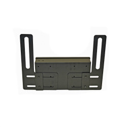 Lund Industries FMPB-814D* Universal Vehicle Floor mounted pistol box 8x14x3 with Handle, Includes VPB-814D & Universal Floor Mount Kit, with Lock Options