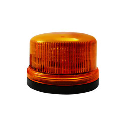 Brooking B16 Low Profile 8-Diode LED Beacon, 3x5, Choose Magnetic or Permanent Mount, Available in Amber
