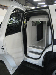 Havis K9-C20 Police K9 Dog Kennel Box Transport System for Chevy Tahoe 2007-2014, Choose White or Black, Constructed from Heavy Duty Aluminum for Long Lasting Durability