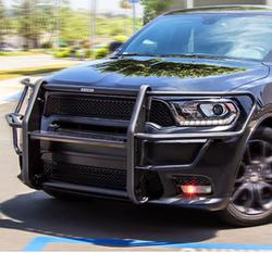 GO RHINO Dodge Durango 2019-2020 Push Bumper, 5000 Series, Optional Brush Guard Wrap, Steel, choose Texture or Gloss