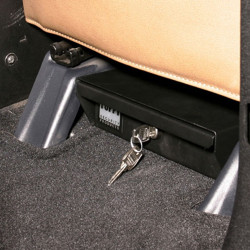 Tuffy Security 289-01 Conceal Carry Tote for Valuables, 9x10x3, includes Mounting Sleeve, Choose Camlock or Pushbutton Combination Lock