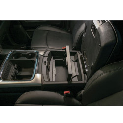 Tuffy Security 321-01 Dodge Ram 2010+ Trucks Security Console Insert (Only), 4th Generation, 9x12x5, Durable texture powder coat finish