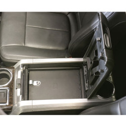 Tuffy Security 315-01 Ford F150 2009-2014 Security Console Insert (Only), 12x12x8, Durable texture powder coat finish