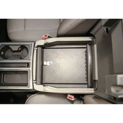 Tuffy Security 317-01 Ford F-Series 2015+ Security Console Insert (Only), 15x12x9, Durable texture powder coat finish
