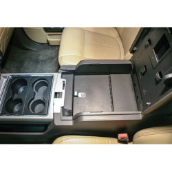 Tuffy Security 322-01 Ford Super Duty 2011-2016 Security Console Insert (Only), 16x11x9, Durable texture powder coat finish