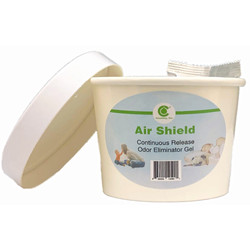 CleanBay Air Shield Odor Eliminating Gel for Vehicles, Rooms, Offices, etc. CBASOEG001