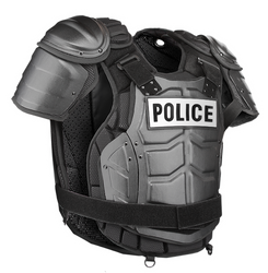 Damascus DFX2 IMPERIAL™ ELITE, Police Riot Gear,  Chest, Back and Shoulder Protection, includes Aluminum Chest Plate, hard shell front and back panels, Stab plate insert, etc., Shoulder and side adjustable