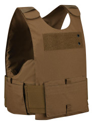 Propper® 4PV-EC Men's Four Piece  Overt  Non-Ballistic Soft Body Armor Carriers - Choose Carrier only, NIJ Certified Spike - Level 1, Level 2, Level 3 , Specifically designed for corrections personnel