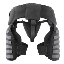 Damascus TG40 IMPERIAL™ Police and Riot Gear, Groin and Thigh Protection with Molle System, Lightweight cellular EVA foam padding, adjustable padded groin protector, compliments the DCP2000 and DFX2 Imperial Protection Systems, Non-ballistic