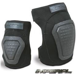 Damascus IMPERIAL™ DNKP Law Enforcement Riot Gear, Neoprene Knee Pads with REINFORCED CAPS, with Stealthy durable neoprene outer shell, Trion-X™ Non-slip reinforced grip technology, can be worn inside or outside of gear, one size fits all Knee and Sh