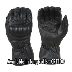 Damascus CRT50 VECTOR™Law Enforcement Riot Gear, with HARD-KNUCKLE RIOT CONTROL GLOVES, Tactical Gloves Riot Control with Short Cuffs, Carbon-Tek fiber knuckles, Velcro® closure