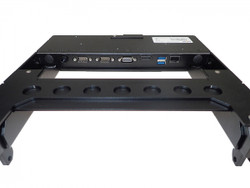 Havis DS-DELL-611 Dell Latitude 12 Rugged Tablet Docking Station, For Mobile Applications Requiring a Thinner Product Option, Power Supply, and Dual Pass-Through Antenna Options Available