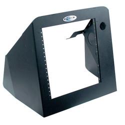 Jotto Desk 425-6480 Law Enforcement Equipment Vertical Dash Mount Contour Console for 2015-2018 Chevy Silverado, includes faceplates and filler panels