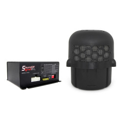 SoundOff Low Frequency  Aftershock Siren System, includes Universal Brackets, choose 1 or 2 100W Speakers
