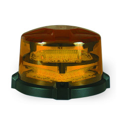 SoundOff ENRBCSH nROADS™ LED Single Color Beacon, 5x7, Choose Magnetic or Permanent Mount, High Dome