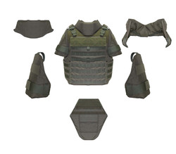 Propper ® ACE System (Armor Component Ensemble) accessories can be used together or separately to provide enhanced protection to any of Propper's tactical vests, NIJ Certified Level 3A protection, Choose your Add-On below, (Vest not included)