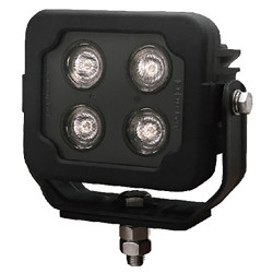 Brooking Industries WLD-6B074-00 4 LED Square Work Light, 3200 Lumens, Area/Scene Light, 5x5x3