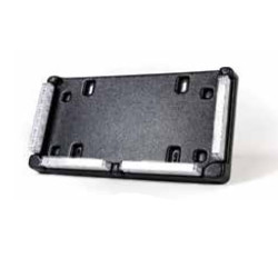 Brooking Industries LPF46 License Plate Frame Mount comes with 4) Integrated ES6 Lightheads