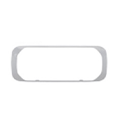 Brooking Industries HB6-FB* Bezel Surface Mount for HB6 Lightheads, Black, White, and Chrome