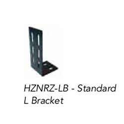 Brooking Industries HZNRZ-LB 90° L Bracket for Horizon and RayZR Light Stick
