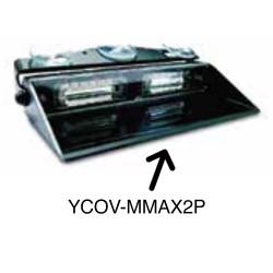 Brooking Industries YCOV-MMAX2P Flashback Shroud for MMAX204P / XMMAX206P Micromax Dash Deck Lighthead
