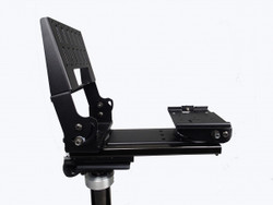 Havis C-MD-305 Heavy Duty Dashboard Monitor or Tablet and Keyboard Mount, and Motion Device, C-UMM-101 Universal Mount Included, Mounts Directly to C-HDM-200 Series Poles